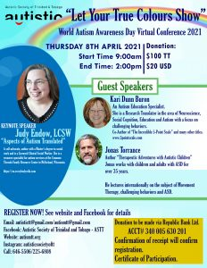 World Autism Awareness Day Virtual Conference 2021 07